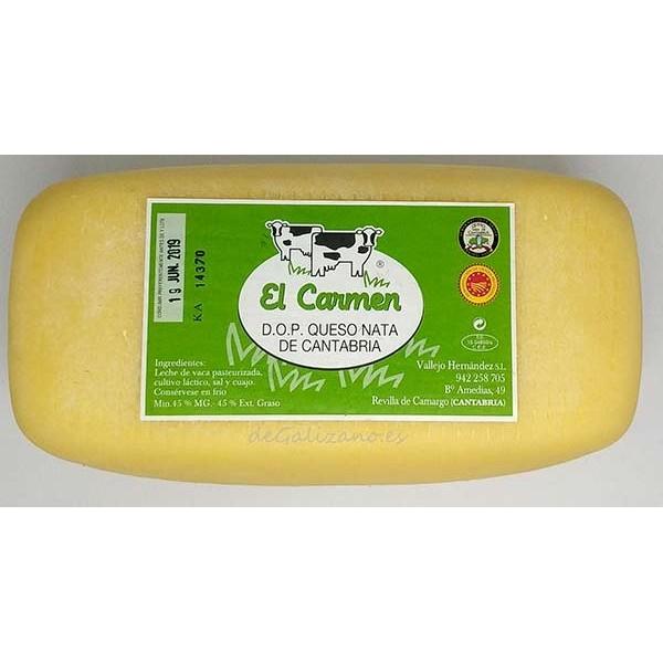 Queso de Nata de Cantabria El Carmen, El mejor Queso de Nata de Cantabria