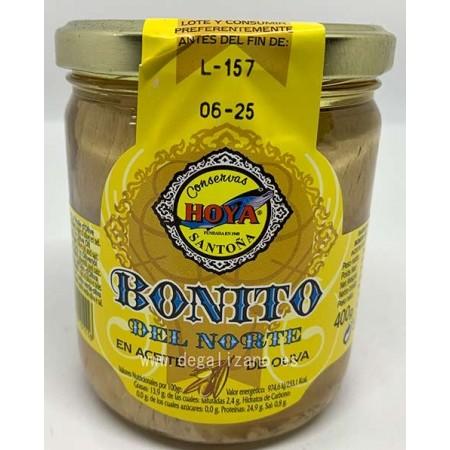 Tarro de Bonito del Norte en Aceite de Oliva Hoya 400 grs