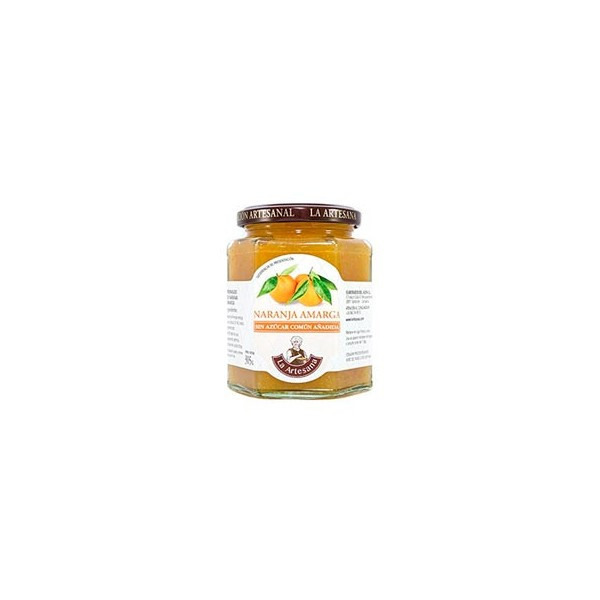 Mermelada de Naranja Amarga sin azúcar común añadido La Artesana 315grs
