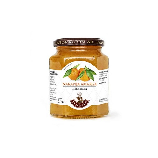 Mermelada de Naranja Amarga Extra La Artesana 315grs
