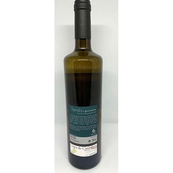 Vino Blanco Yenda Spicata D.O. Vinos Costa de Cantabria