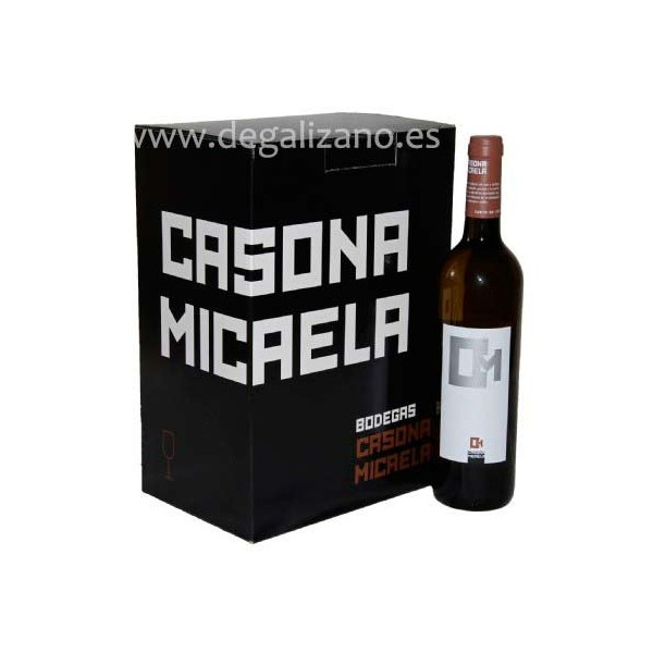 Vino Blanco Casona Micaela D.O. Vinos Costa de Cantabria