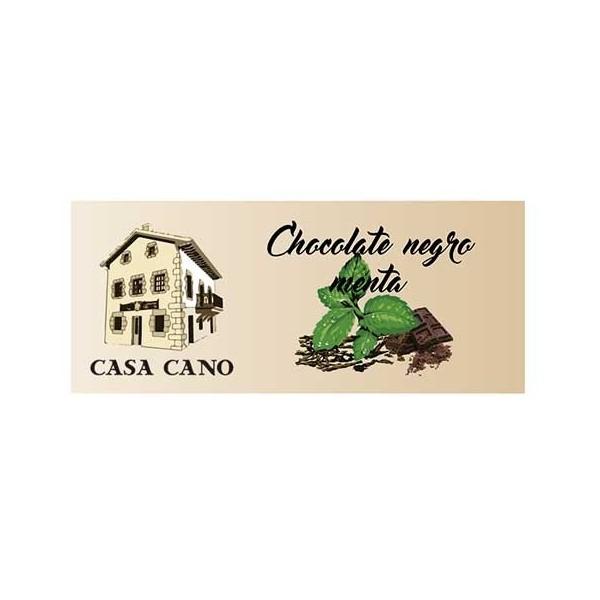 Chocolate Negro Artesano con Menta Casa Cano 125 grs