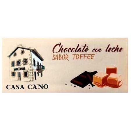 Chocolate con Leche y Dulce de Leche Artesano Casa Cano 125 grs