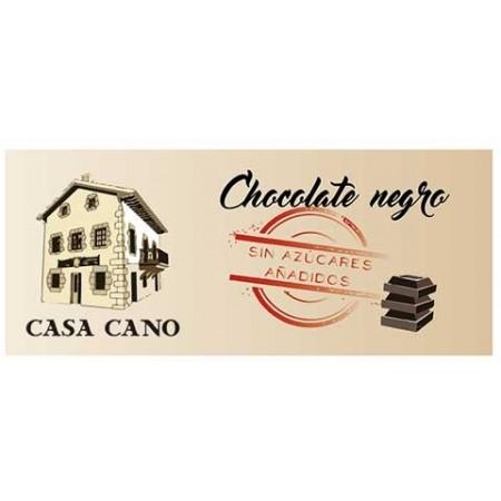 Chocolate Negro Artesano Sin Azúcares Añadidos Casa Cano 125 grs