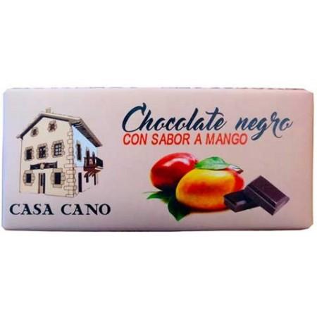 Chocolate Negro Artesano Sabor Mango Casa Cano 125 grs