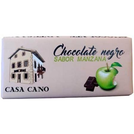 Chocolate Negro Artesano Sabor Manzana Casa Cano 125 grs