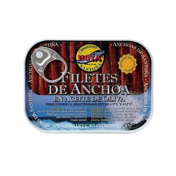 Anchoa del Cantábrico HOYA en aceite de oliva lata 78grs