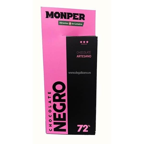 Chocolate Negro 72% Monper