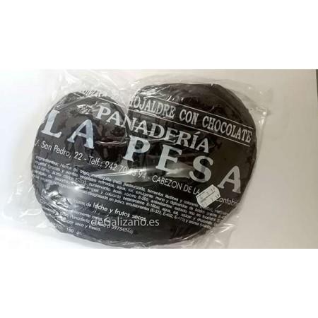 Palmera de Hojaldre y Chocolate La Pesa 160grs